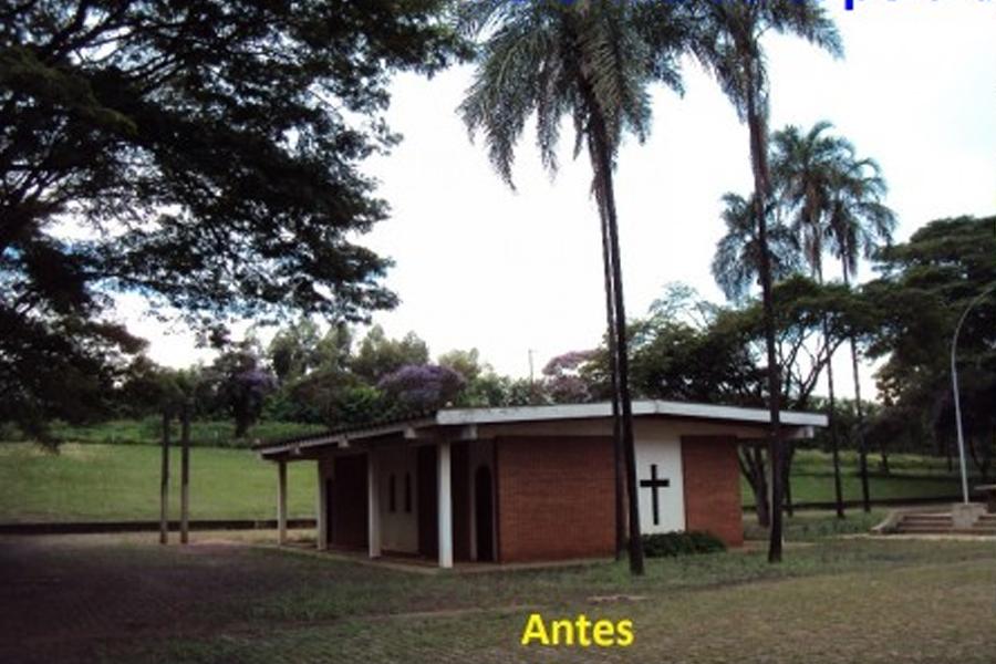 Reforma da capela da Usina Santa Lúcia
